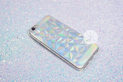 Holographic Crystal Phone Case 2-in-1 - iPhone 6 & 6s, 6 Plus & 6s Plus