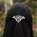 Gwendolyn Celtic Knot Hair Slide Clip