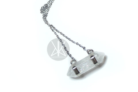 AMULET - Clear Crystal Point Necklace