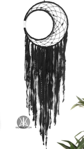 Crescent Moon Dreamcatcher