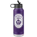 WITCH'S BREW 32oz Insulated Stainless Water Bottle