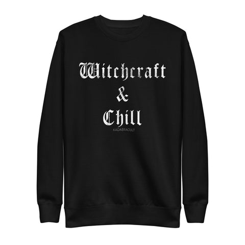 WITCHCRAFT & CHILL Unisex Fleece Pullover