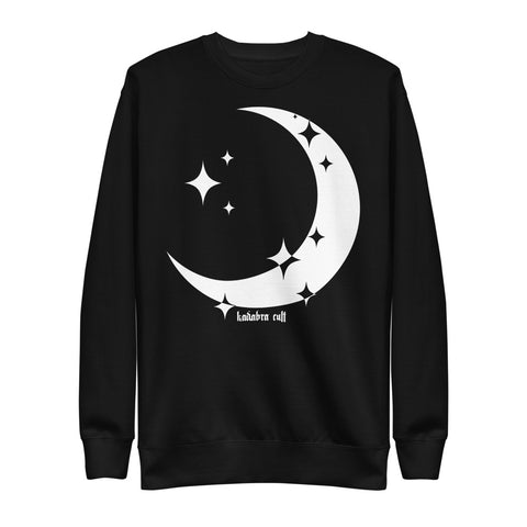CRESCENT MOON Unisex Fleece Pullover