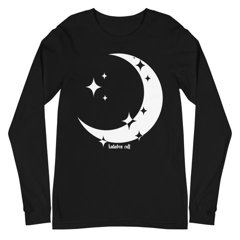 CRESCENT MOON Unisex Long Sleeve Tee
