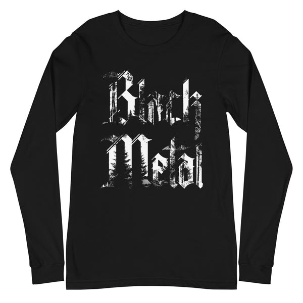BLACK METAL Unisex Long Sleeve Tee