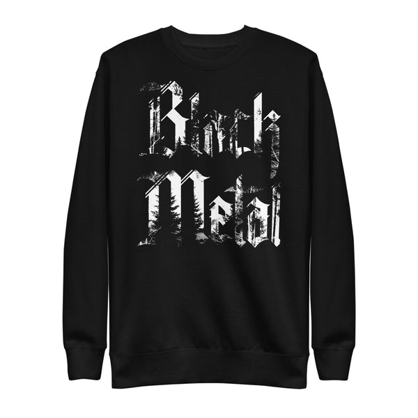 BLACK METAL Unisex Fleece Pullover