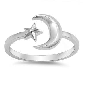 Moonchild Ring - Sterling Silver
