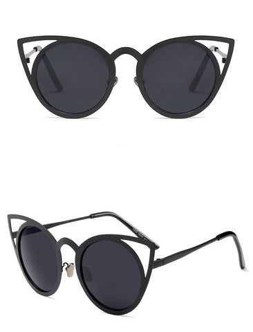 MINX metal cat eye sunnies