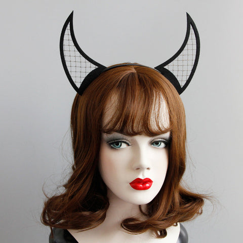 HORN-y Devil Horns Headband