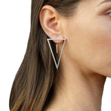 TOVE Minimalistic Triangle Earrings