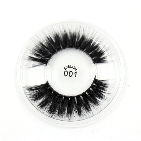 001 3D Silk False Eyelashes