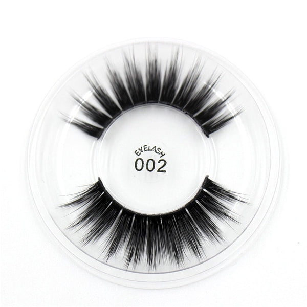 002 3D Silk False Eyelashes