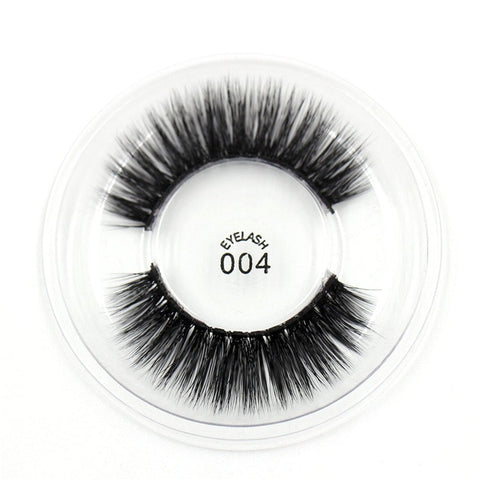 004 3D Silk False Eyelashes