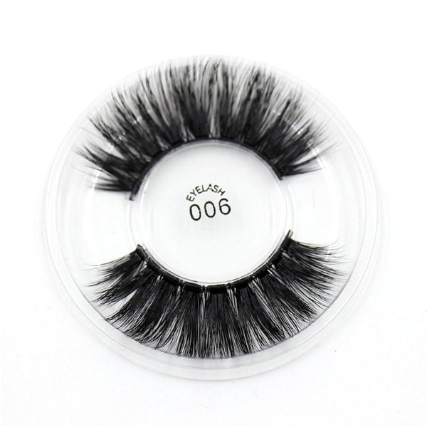 006 3D Silk False Eyelashes