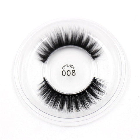 008 3D Silk False Eyelashes