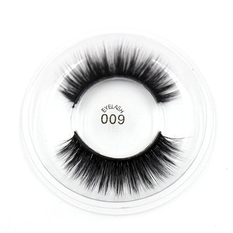 009 3D Silk False Eyelashes