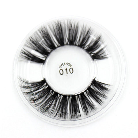 010 3D Silk False Eyelashes