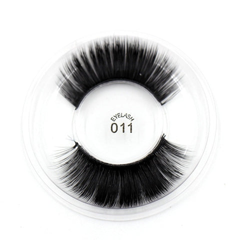 011 3D Silk False Eyelashes