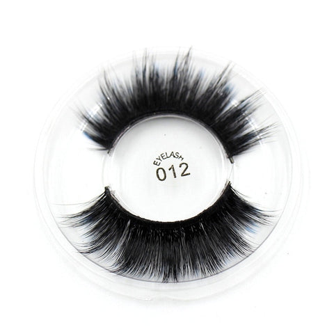 012 3D Silk False Eyelashes