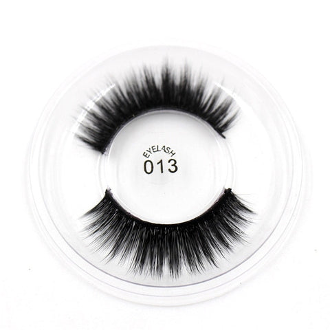013 3D Silk False Eyelashes