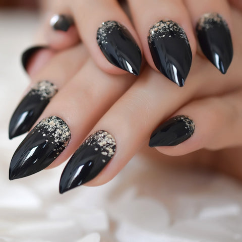 GLAM GOTH False Nails