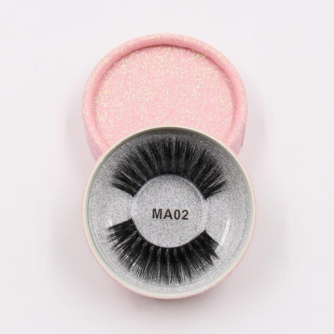 MA02 Luxury 3d Faux Mink Eyelashes