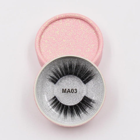 MA03 Luxury 3d Faux Mink Eyelashes