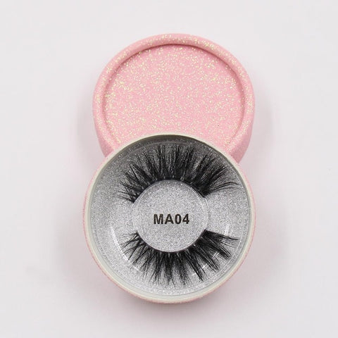 MA04 Luxury 3d Faux Mink Eyelashes