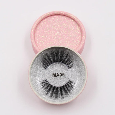 MA06 Luxury 3d Faux Mink Eyelashes