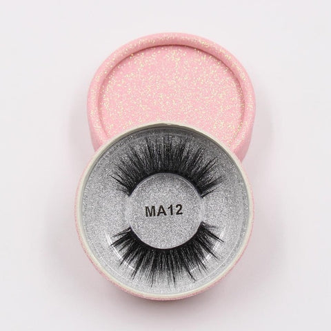 MA12 Luxury 3d Faux Mink Eyelashes