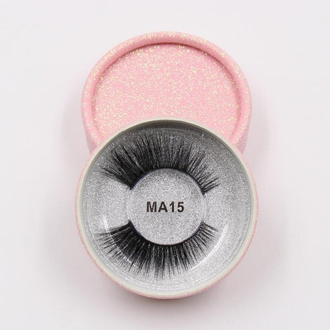 MA15 Luxury 3d Faux Mink Eyelashes