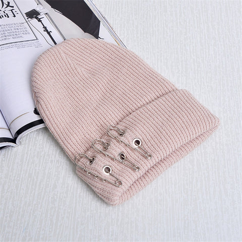Safety Pin Beanie