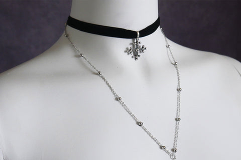 ROSARY - Choker Necklace