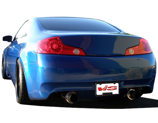 VIS Racing DMX Rear Bumper (Fiberglass) - Infiniti G35 Coupe - Outcast Garage