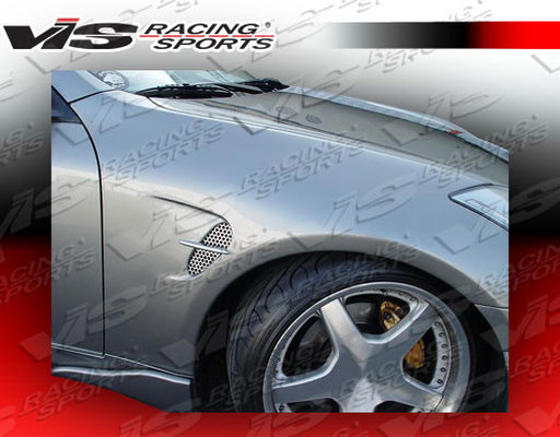 VIS Racing Wings / INGs-Style  Front Fenders (Fiberglass) - Infiniti G35 Coupe - Outcast Garage