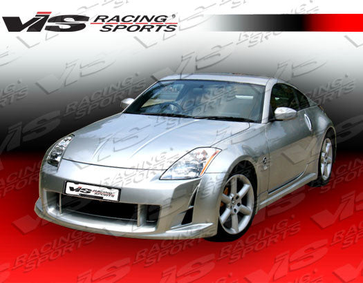VIS Racing AMS Side Skirts (Fiberglass) - Nissan 350Z - Outcast Garage