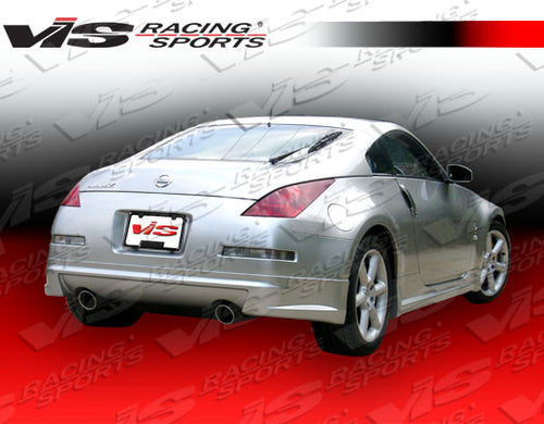 VIS Racing AMS Fiberglass Rear Lip - 350Z