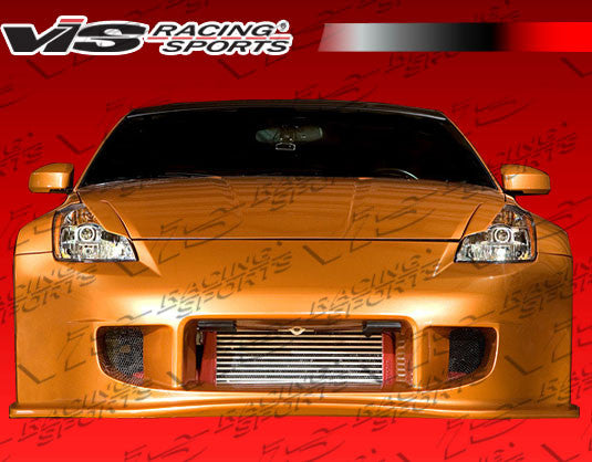 VIS Racing Demon Wide Body Front Bumper (Fiberglass) - Nissan 350Z - Outcast Garage