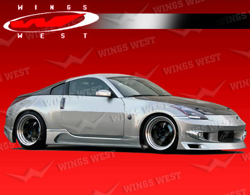 VIS Racing JPC Type-A Side Skirts (Fiberglass) - Nissan 350Z - Outcast Garage
