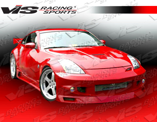 VIS Racing J-Speed Front Bumper (Fiberglass) - Nissan 350Z - Outcast Garage