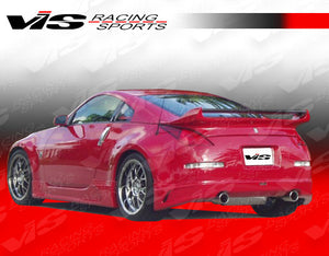 VIS Racing J-Speed Fiberglass Rear Lip - 350Z