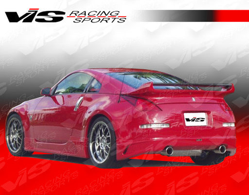 VIS Racing J-Speed Rear Lip (Fiberglass) - Nissan 350Z - Outcast Garage
