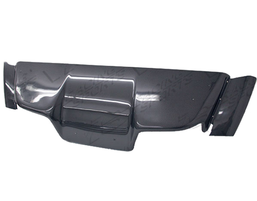 VIS Racing Terminator / TS-Style Rear Diffuser (Carbon Fiber) - Universal - Outcast Garage