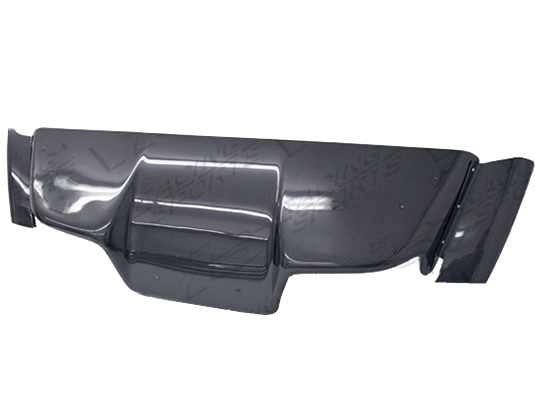 VIS Racing Top Secret Replica Rear Diffuser (Carbon) - Universal