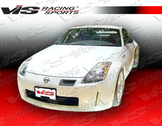 VIS Racing Techno-R / Nismo-Style Intake Duct (Carbon Fiber) - Nissan 350Z - Outcast Garage