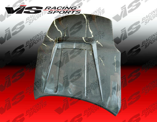 VIS Racing Invader 2 / VS-Style V2 Hood (Carbon Fiber) - Nissan 350Z (03-06) - Outcast Garage