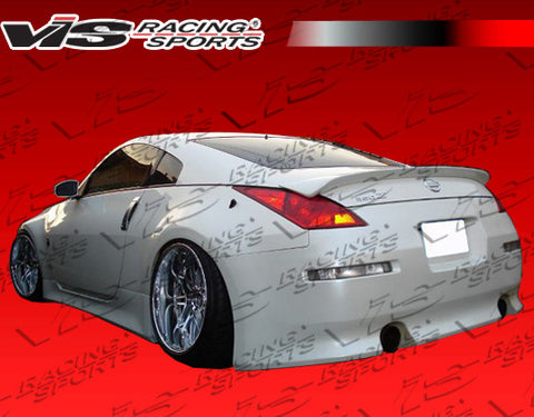 VIS Racing V-Speed Fiberglass Spoiler - 350Z
