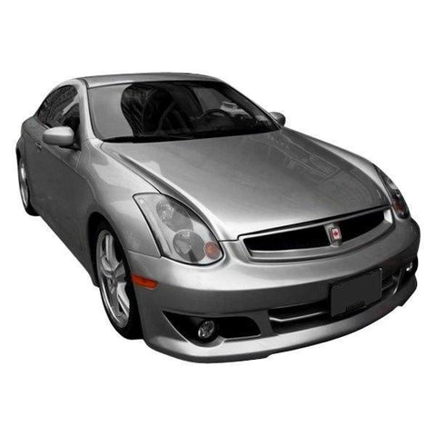 VIS Racing Kenstyle Replica Front Bumper (FRP) - Infiniti G35 Coupe