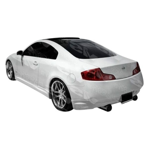 VIS Racing Techno-R / Nismo-Style Rear Add-Ons (Fiberglass) - Infiniti G35 Coupe - Outcast Garage