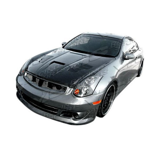 VIS Racing Invader 3-Style Hood (Carbon Fiber) - Infiniti G35 Coupe - Outcast Garage
